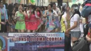preview picture of video 'Carnaval 2009 Gualaceo Ecuador  #2  (Desfile)'