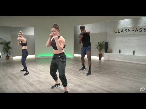 30-Minute At-Home Boxing Workout Class for Beginners | No Boxing Equipment Needed | ClassPass