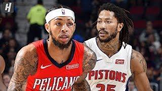 Detroit Pistons vs New Orleans Pelicans - Full Game Highlights   Dec 9, 2019   2019-20 NBA Season