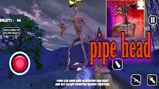 Siren Head Adventure horror Escape 3d game