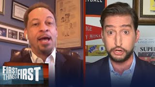 Broussard Remains Loyal To His Clippers, Talks Kawhi And Bubble Chemistry | NBA | FIRST THINGS FIRST