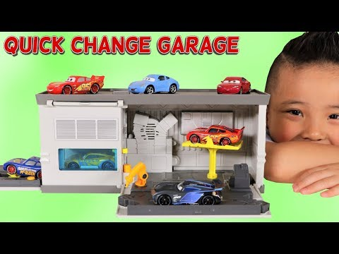 mp4 Cars 3 Quick Change Garage, download Cars 3 Quick Change Garage video klip Cars 3 Quick Change Garage