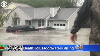 Florence Death Toll, Floodwaters Rising