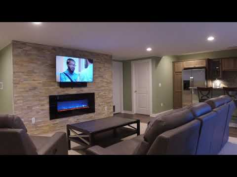 This amazing family wanted to remodel their basement for it to become an extension of their home. Previously...