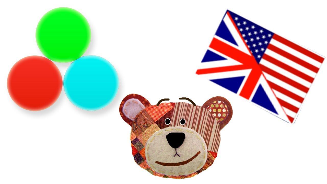 Los colores en inglés - Con Traposo para niños