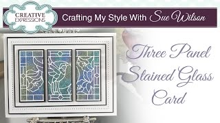 How To Make A Glitter Card | Crafting My Style With Sue Wilson