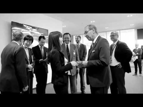 Impressionen vom Opening des Customer Centers in Oberkochen