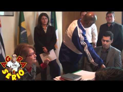 Ex Prefeito de Juquitiba Francisco Junior e os Vereadores na reunião sobre o Fórum de Juquitiba e São Lourenço da Serra