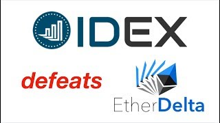 HOW TO: Use IDEX Exchange To Trade ERC20 Tokens! An EtherDelta KILLER?!