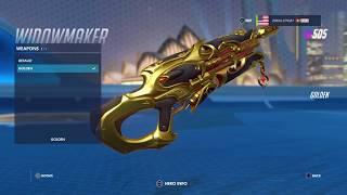 The Widowmaker GOLD GUN!!!! | Overwatch Gold Gun