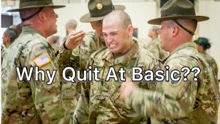 The #1 Reason People Quit At Basic Training