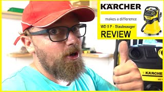 Review: Kärcher WD 5P Mehrzweck-Staubsauger -- Wie gut ist dieser wirklich?