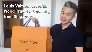 Louis Vuitton Unboxing Neverfull World Traveler