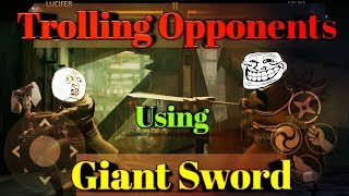 Shadow Fight 3 Trolling Opponents with Ancestors Wrath