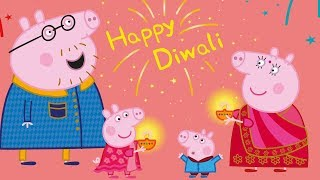 Peppa Pig In Hindi - Happy Diwali 🎉 हिंदी Kahaniya - Hindi Cartoons For Kids