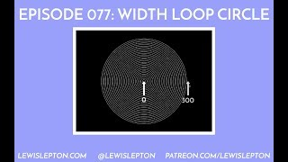 Episode 077 - while loop circle