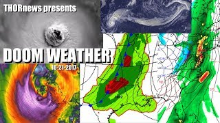 DOOM WEATHER: Super Typhoon, Atmospheric River, Storms & Wildfires USA, UK Brian