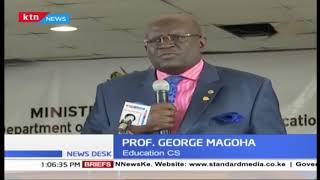 CS Magoha unveils research findings on learner achievements
