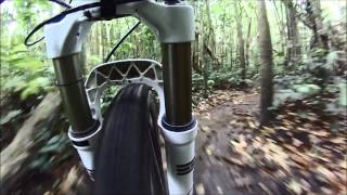Las Tablas Trail in the Monagas Mtb Park