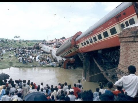 Top 10 India's Worst Train Accidents.