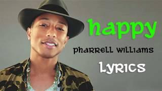 Happy by Williams Pharrel (Lyrics)
