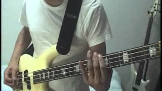 AEROSMITH -Chiquita- Bass cover