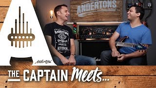 The Captain Meets Misha Mansoor
