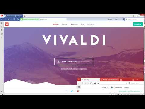 How To Download And Install Vivaldi Browser Full Version 2017 On PC For Windows 7/8/8.1/10/XP/Vistar