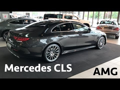 Mercedes CLS 350d 4M AMG package 2019 - first in depth review in 4K