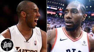 Kawhi Leonard's up-and-under 'looks real Kobe/Jordanish' - Scottie Pippen   The Jump
