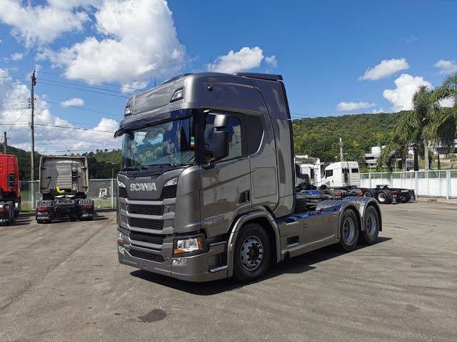 Vídeo do caminhão RH 450 6x2