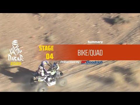 【ダカールラリーハイライト動画】ステージ4 バイク部門のハイライト