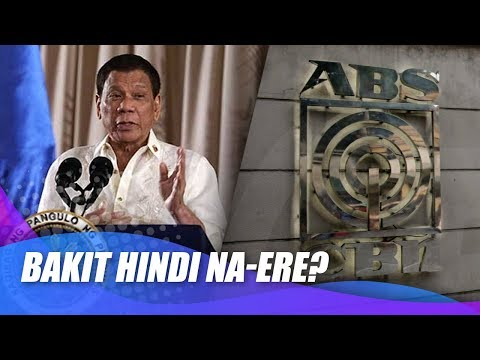 [News5]  Paliwanag ng ABS CBN sa hindi pag ere ng political ad ni Pres  Duterte