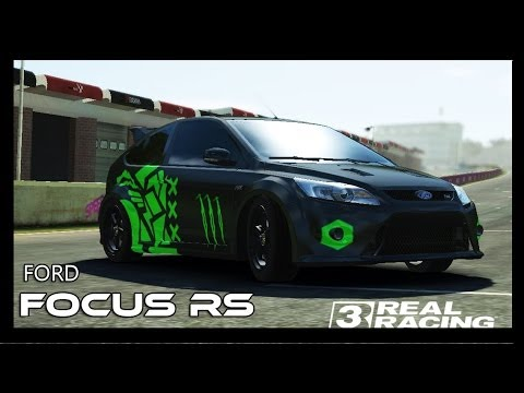 Video Real Racing 3 - Ford Focus RS  - Custom paint