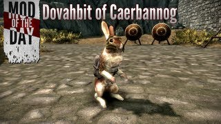 Skyrim Mod of the Day - Episode 229: Dovahbit of Caerbannog