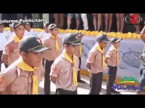Desfile dos desbravadores de Atalaia do Norte de Muaná