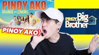 JAPANESE TRIES TO SING PBB THEME SONG!!!(PINOY AKO by Orange and Lemon)