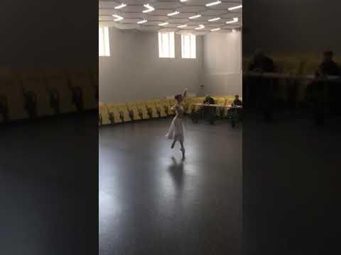 Никия из балета Баядерка