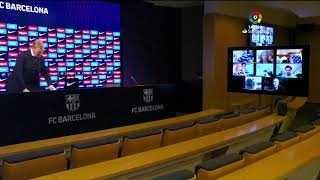 Rueda de prensa FC Barcelona vs Getafe CF