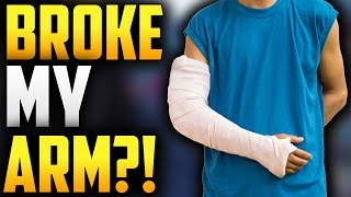 THE TIME MY MOM BROKE MY ARM?! MY FIRST BROKEN BONE! (PAINFUL LIFE STORY)