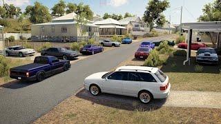 Forza Horizon 3 | 90s Drag Shootout | $ Grudge Races | Turbo E36 vs Foxbody, Viper, Syclone & More