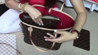 Louis Vuitton Neverfull MM/ Organizer, base shaper, etc...answered