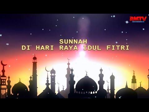 Sunah di Hari Raya Idul Fitri