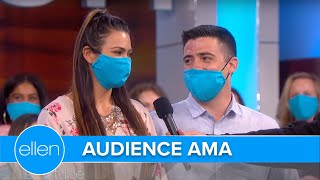 Audience Members Answer Ellen's Questions in an 'AMA'
