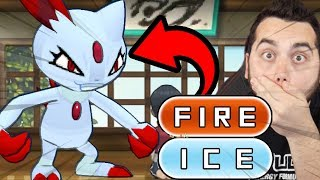 A FIRE and ICE TYPE POKEMON?! WHAT!?