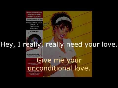 "Donna Summer - Unconditional Love (LP Version) LYRICS SHM ""She Works Hard for the Money"""