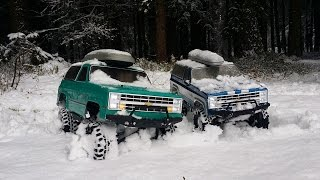preview picture of video '2 K5 Blazer Ascender new snow'