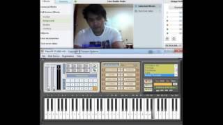 Menunggu (keyboard musik)