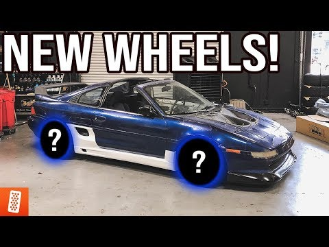 Turning a $500 Toyota MR2 into a $20,000 Toyota MR2! (Part 2) - New Wheels & +93 Turbo Brakes