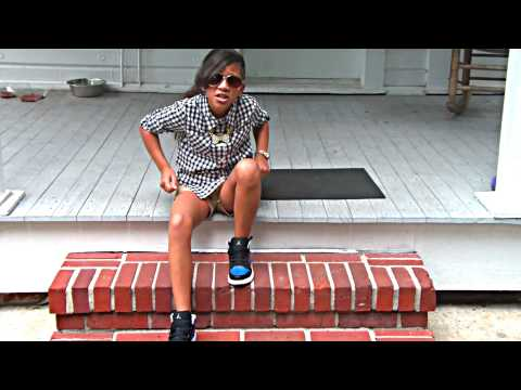 """BABY KAELY """"ITS GONNA BE OK"""" AMAZING 9 YEAR OLD KID RAPPER!"""